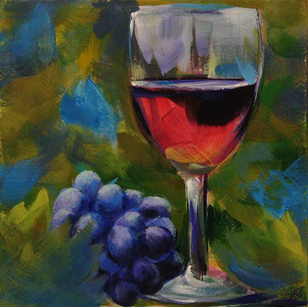 """WINE COUNTRY"" original fine art by Brian Cameron"