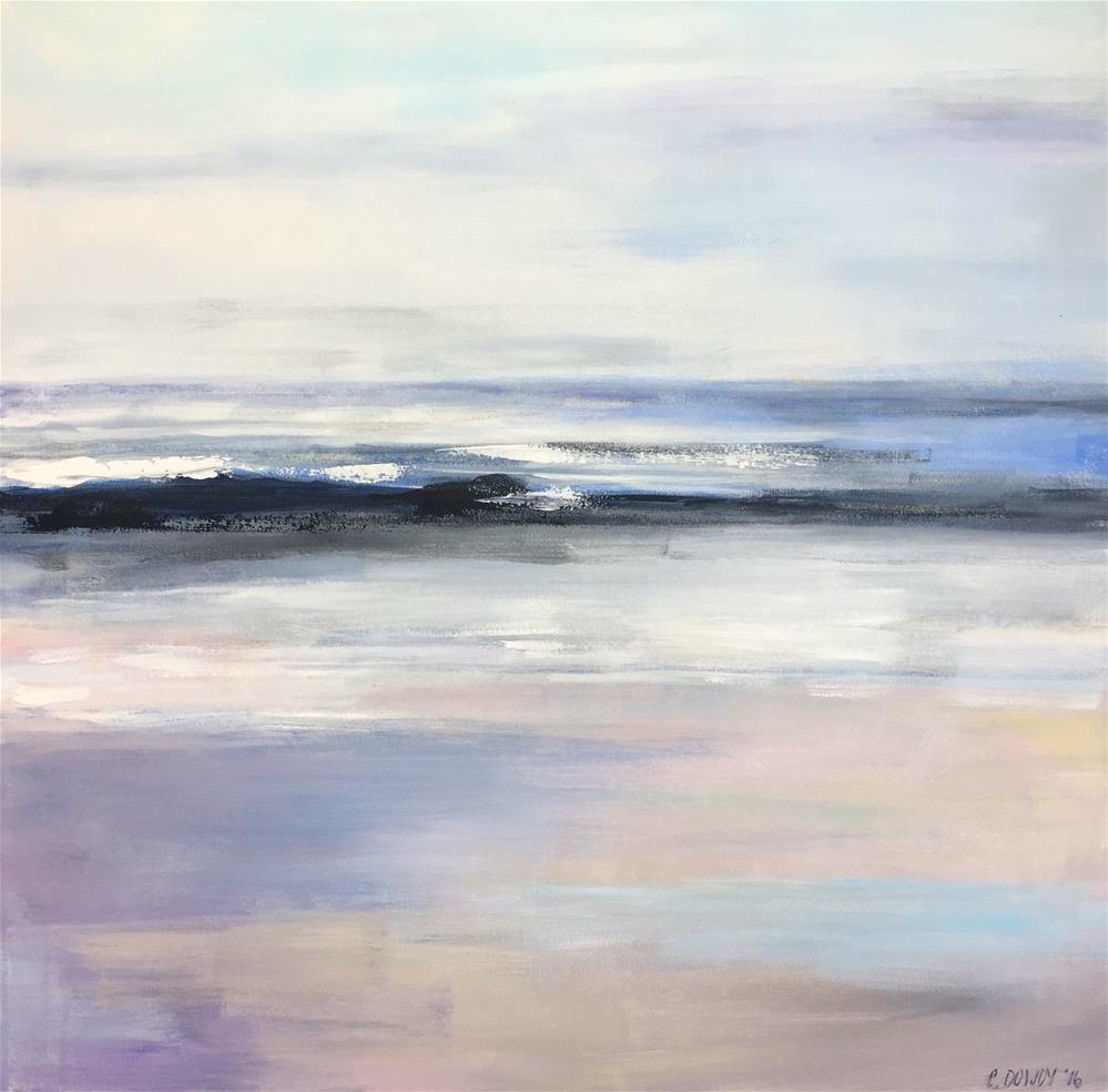 """Summer Reflections"" original fine art by Christina Dowdy"