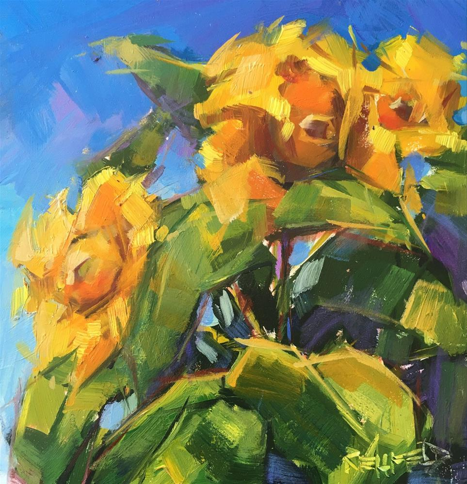 """Wind And Sun"" original fine art by Cathleen Rehfeld"