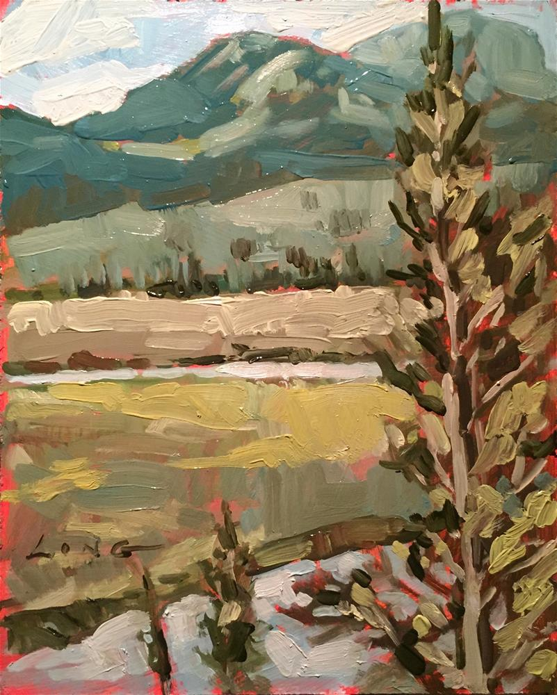 """Near Yellowstone Lake"" original fine art by Chris Long"