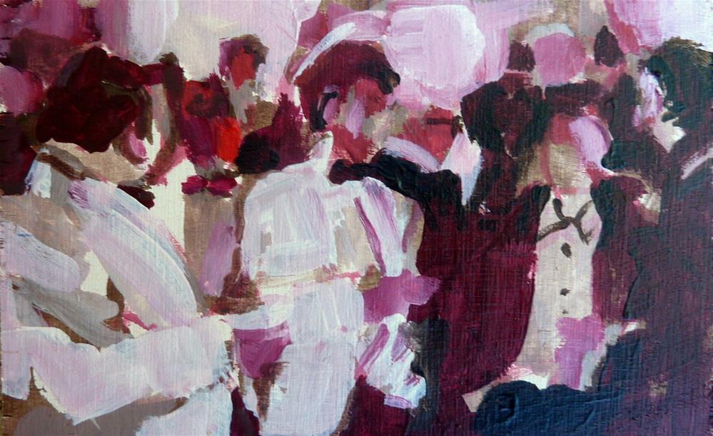 """Abendgesellschaft / soiree"" original fine art by Mila Plaickner"