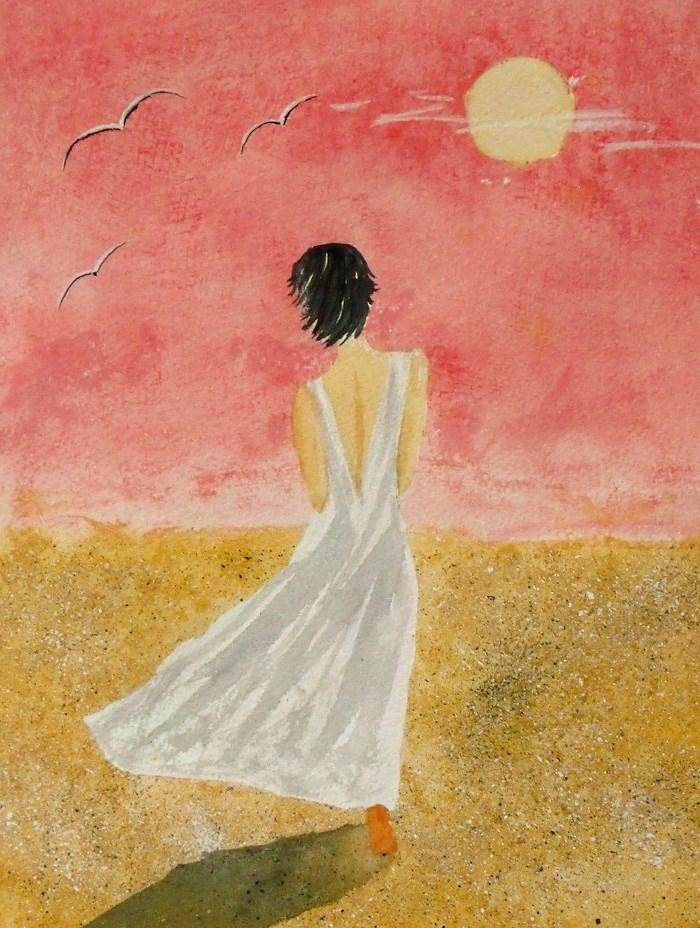 """""""A warm Breeze"""" original fine art by karen richardson"""