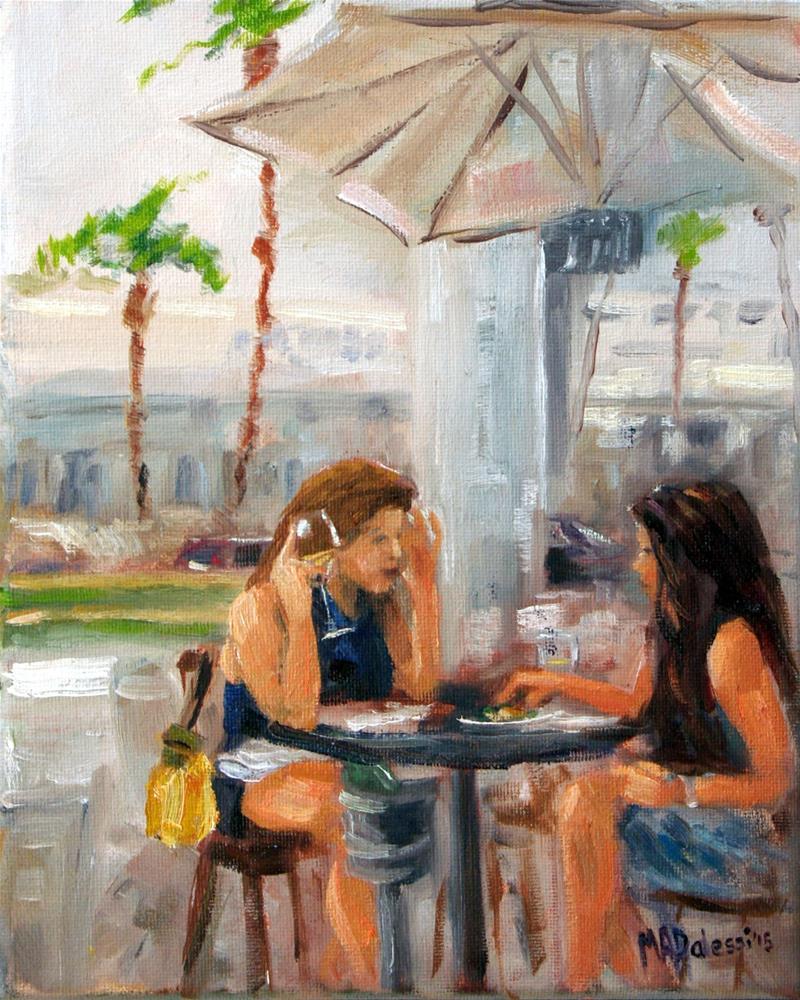 """winetime"" original fine art by Miranda Dalessi"
