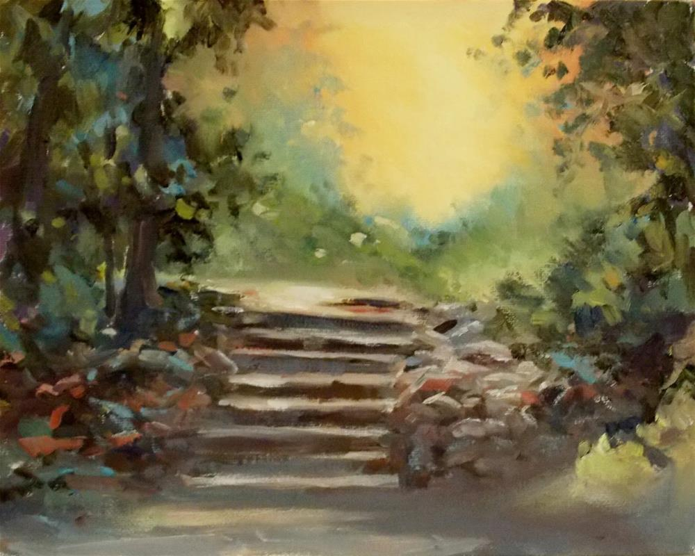 """"""" GUIDING LIGHT """" original fine art by Doug Carter"""