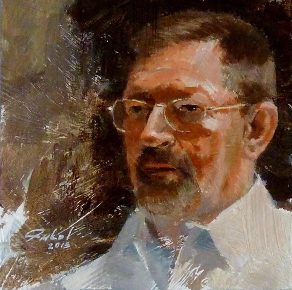 """""""Study for Larry"""" original fine art by Ron Ferkol"""