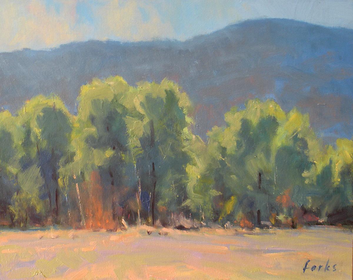 """The Soft Hues of Summer"" original fine art by David Forks"