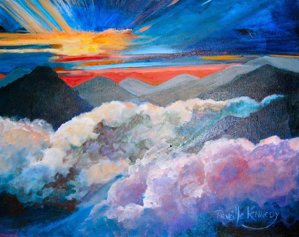 """SpectacularView From the Top"" original fine art by Reveille Kennedy"