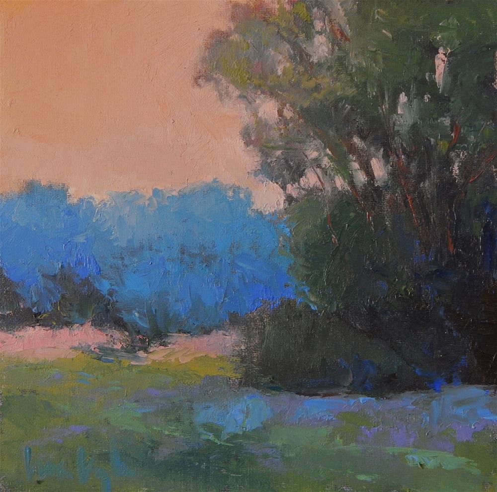"""Summer Morning"" original fine art by Lisa Kyle"