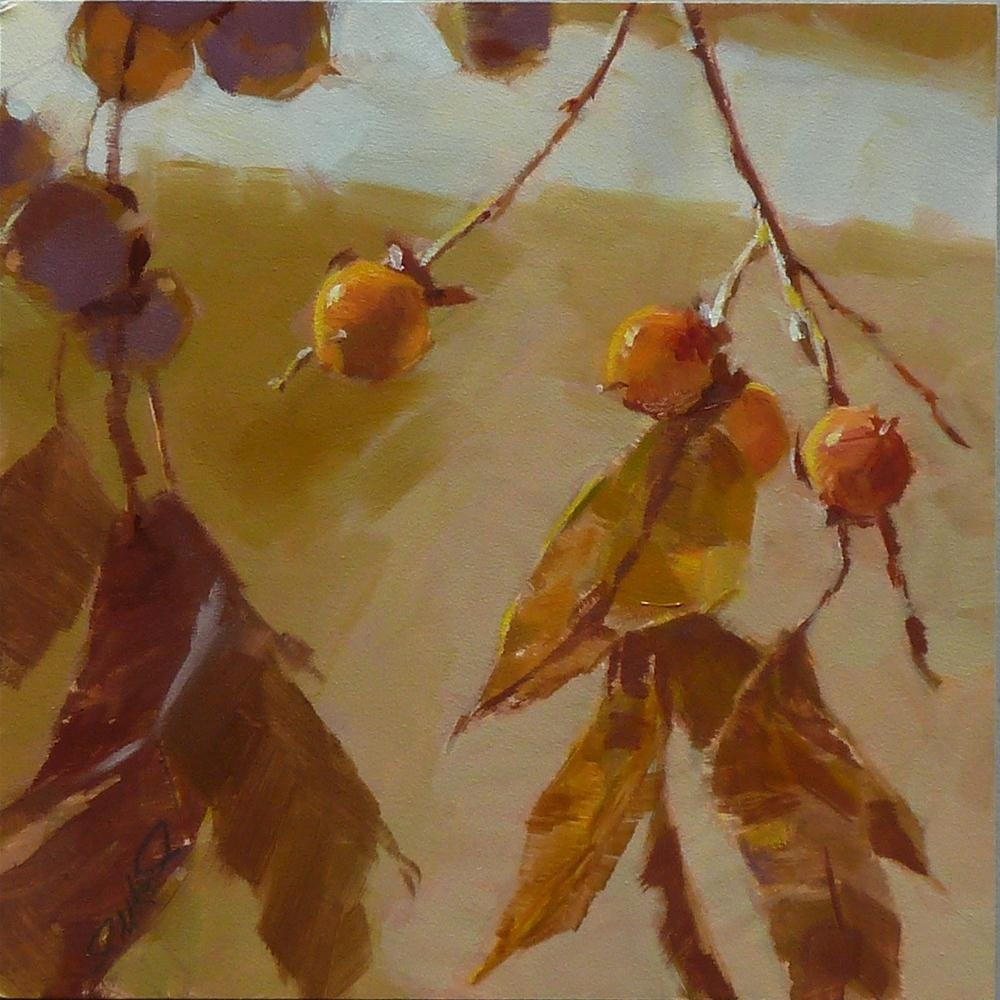 """Wild Persimmons #2-2012"" original fine art by Ron Ferkol"