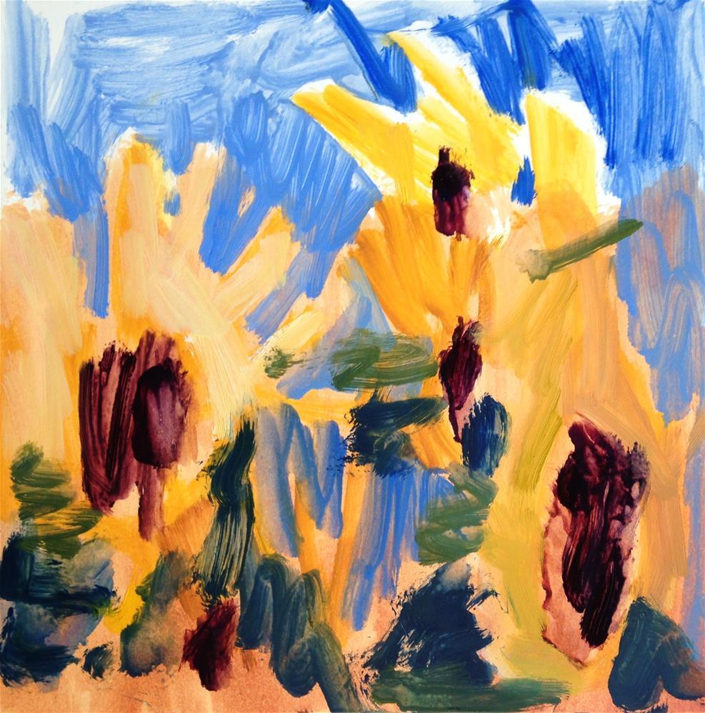 """Dissolving Beauty"" original fine art by Pamela Hoffmeister"