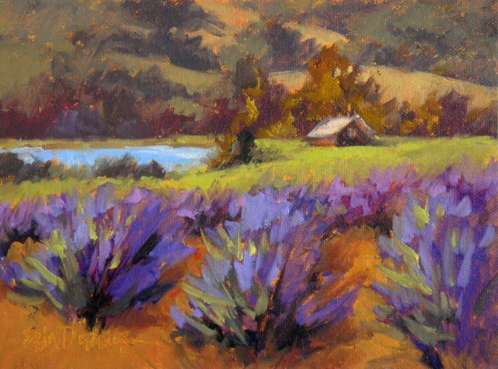 """Sonoma Splendor"" original fine art by Erin Dertner"
