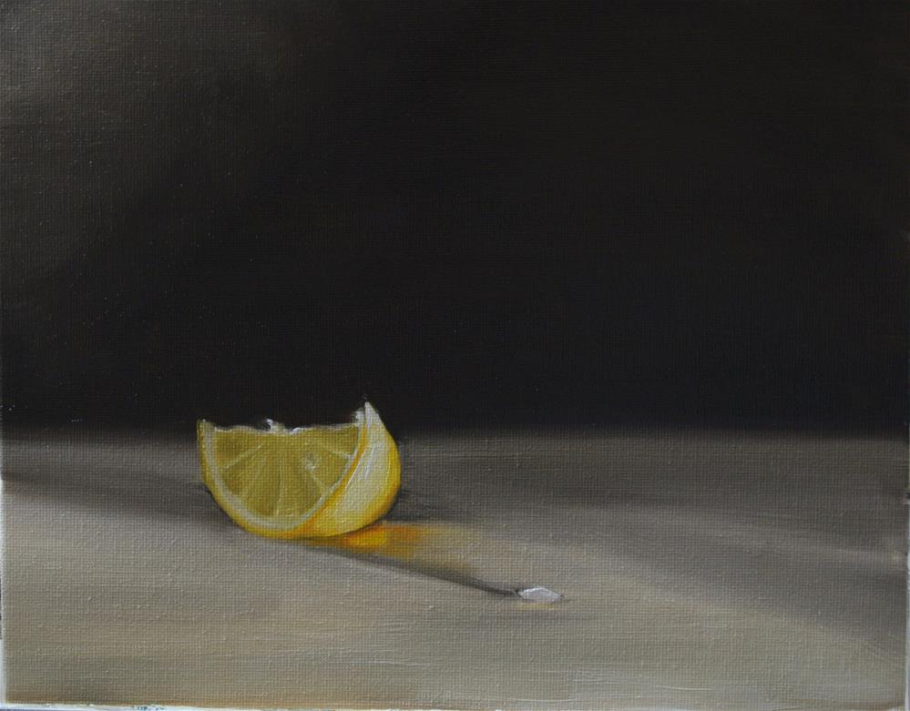 """Lemon Slice"" original fine art by James Coates"