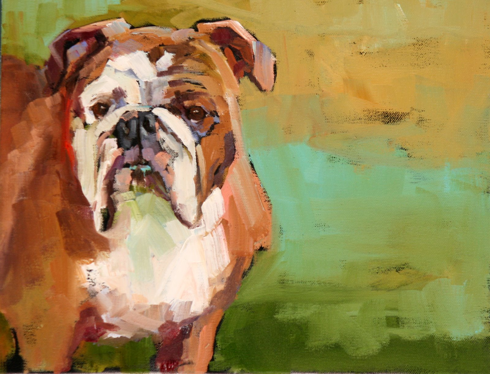 """tallulah"" original fine art by Carol Carmichael"