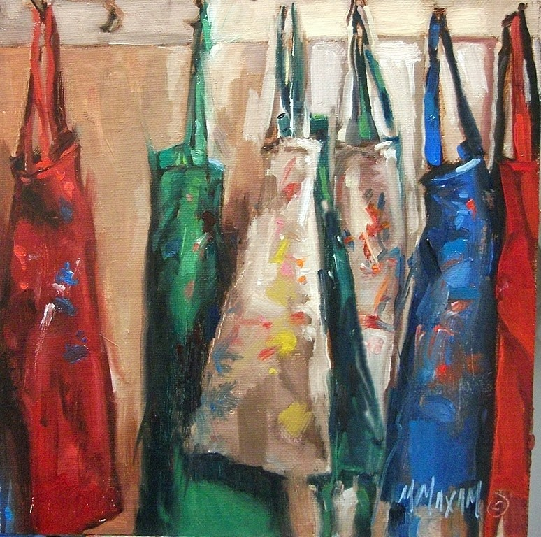 """A Hard Day's Work"" original fine art by Mary Maxam"
