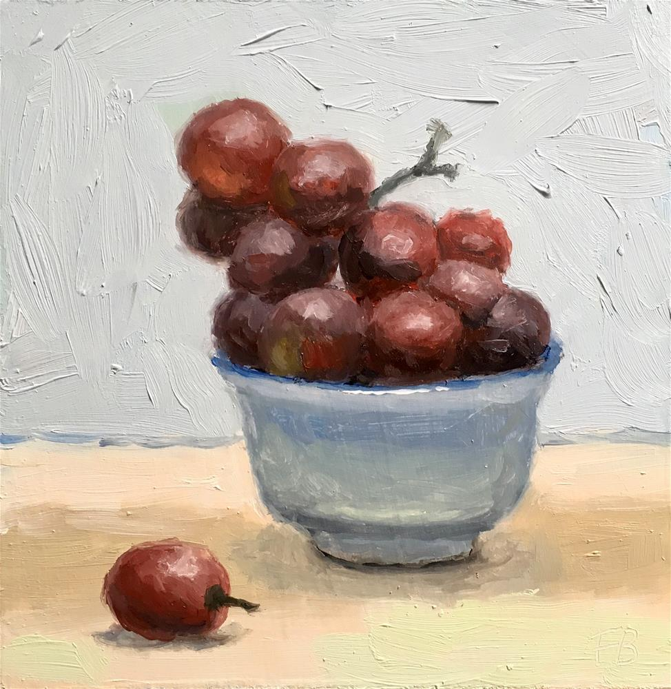 """220 Thursday Grapes"" original fine art by Fred Bell"