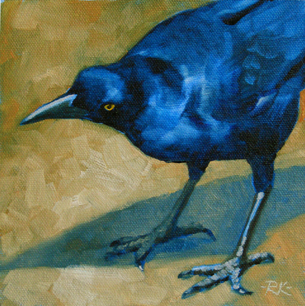"""Poised to Strike"" original fine art by Rita Kirkman"