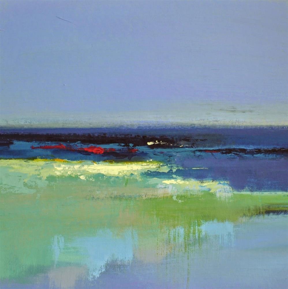 """Landscape 165"" original fine art by Ewa Kunicka"