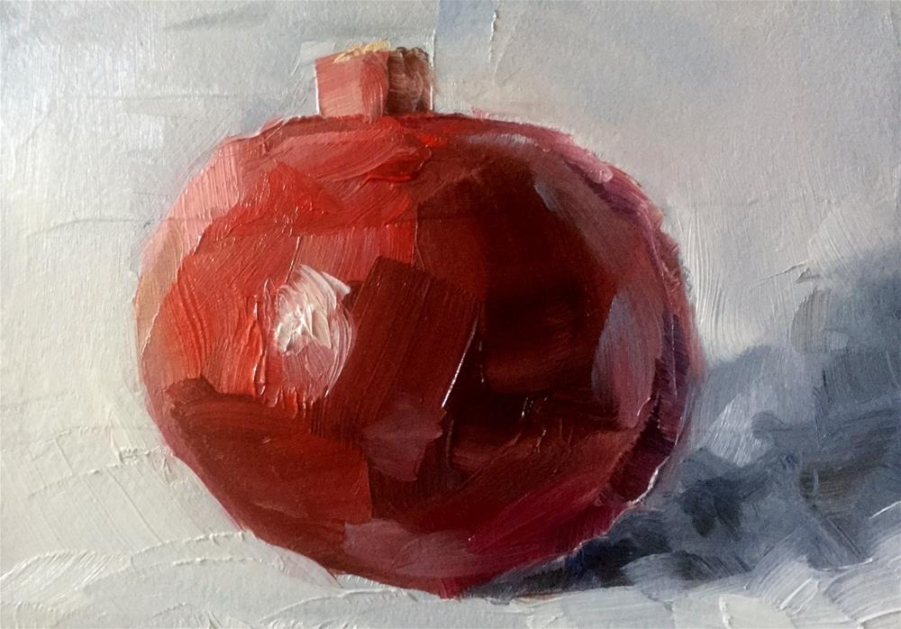 """Pomegranate "" original fine art by Gary Bruton"