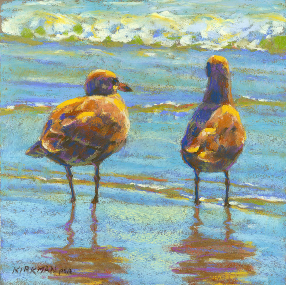 """Beach Date"" original fine art by Rita Kirkman"