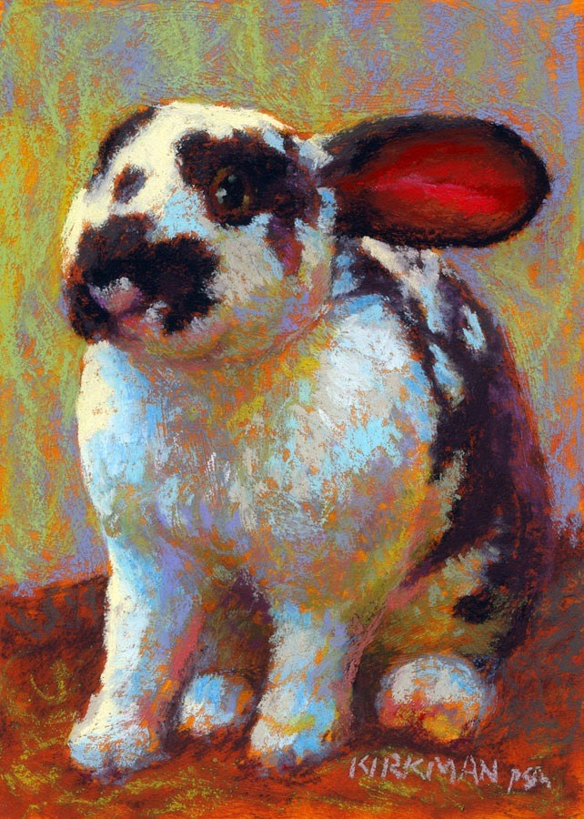 """Earnie"" original fine art by Rita Kirkman"
