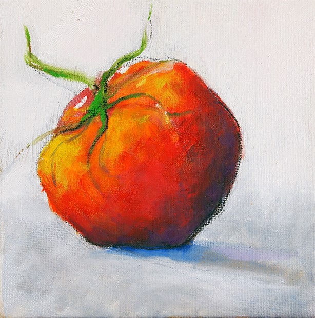"""You say Tomato"" original fine art by Jack Jones"