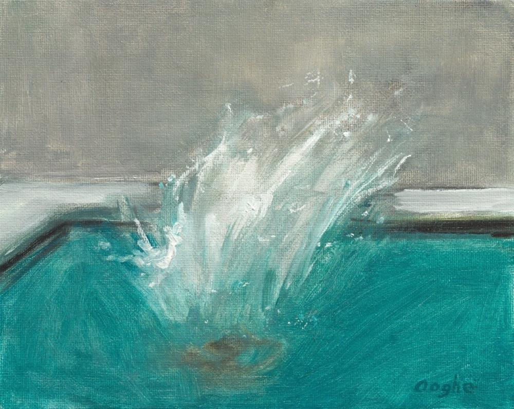 """Splash"" original fine art by Angela Ooghe"
