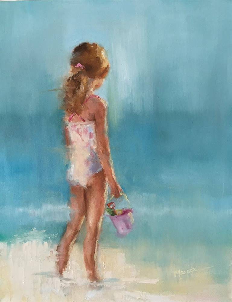 """Beach Dreams"" original fine art by Marcia Hodges"