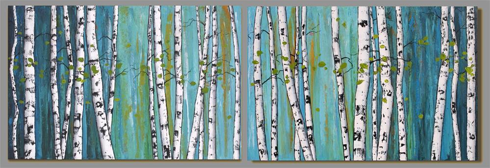 """A Fine Afternoon"" original fine art by Sage Mountain"