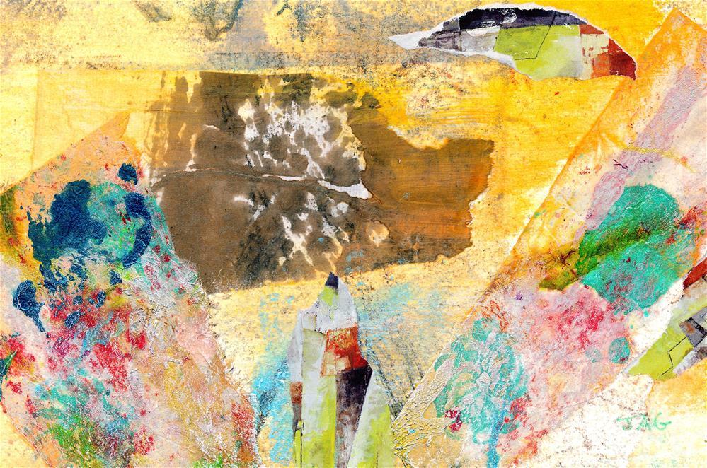 """""""Warmth"""" original fine art by Janet Gunderson"""