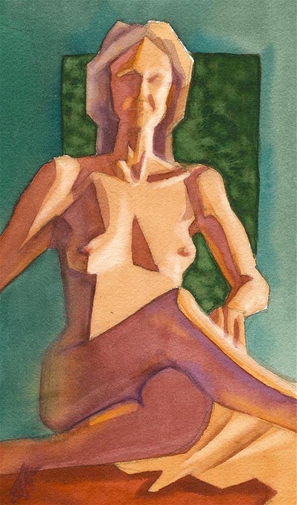 """Irene 2"" original fine art by Mark Allison"