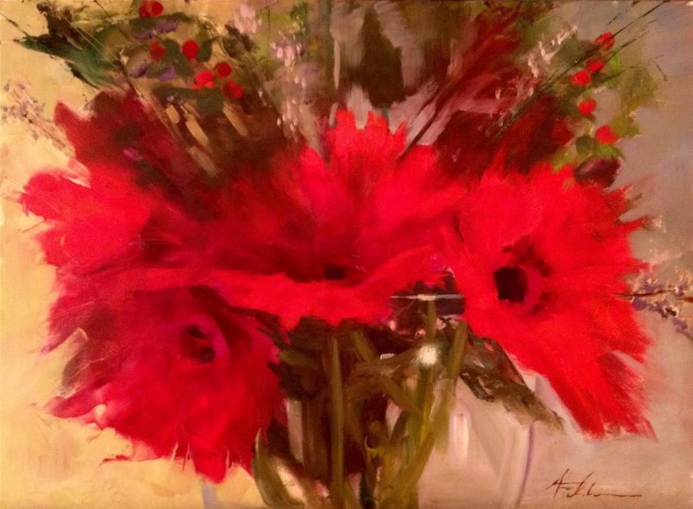 """New Class Announcement"" original fine art by Ann Feldman"