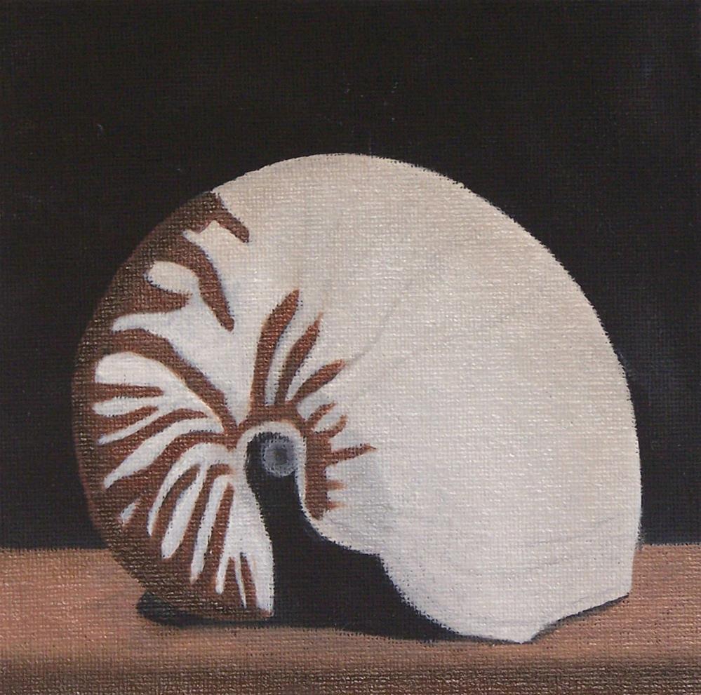 """""""Nautilus"""" original fine art by John Marcum"""