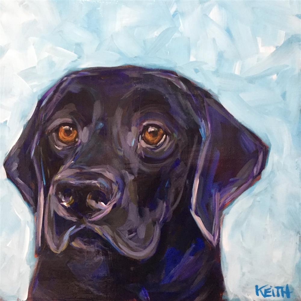 """""""Wilma"""" original fine art by Kandice Keith"""