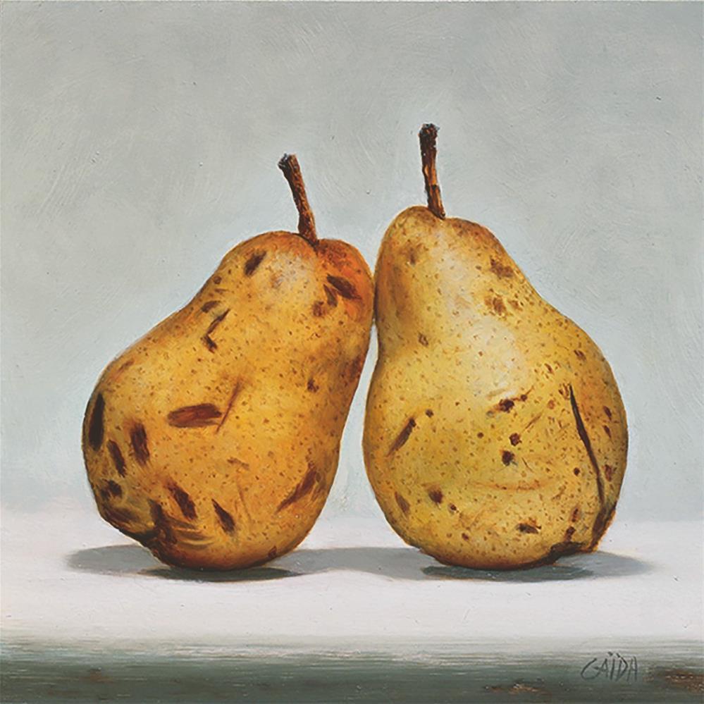 """PEARS"" original fine art by Arthur Gaida"
