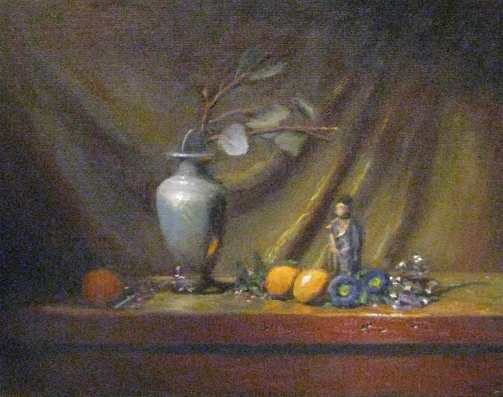 """Mudman and all that jazz"" original fine art by tom dawson"