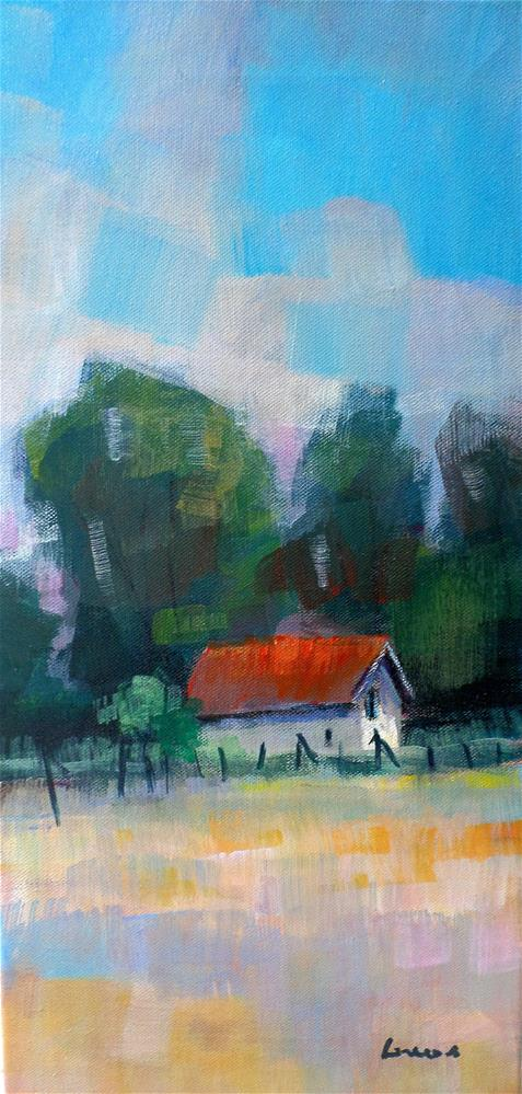 """SMALL HOUSE"" original fine art by salvatore greco"