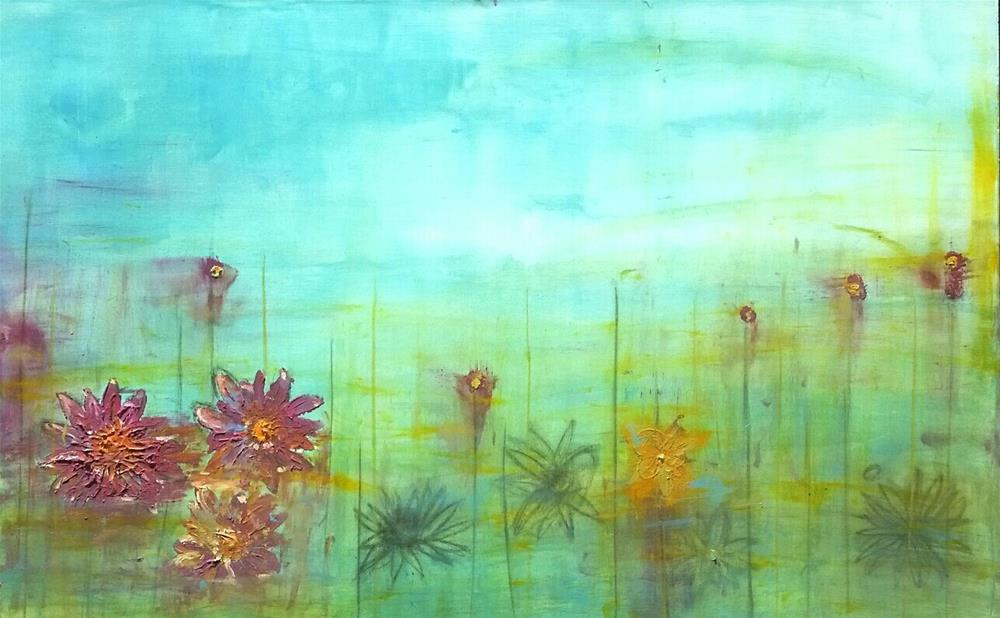 """Lotus Dream"" original fine art by Christy Tremblay"