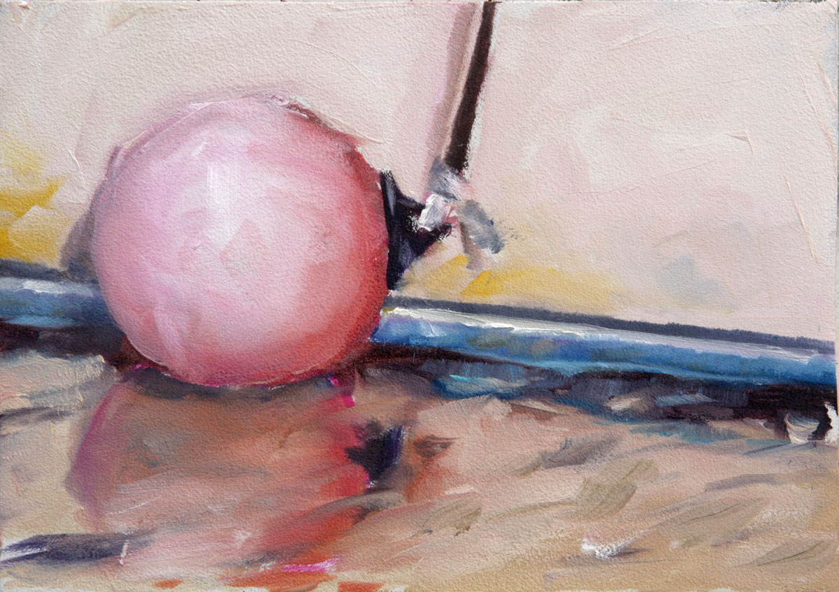 """Boat Buoy"" original fine art by Clair Hartmann"