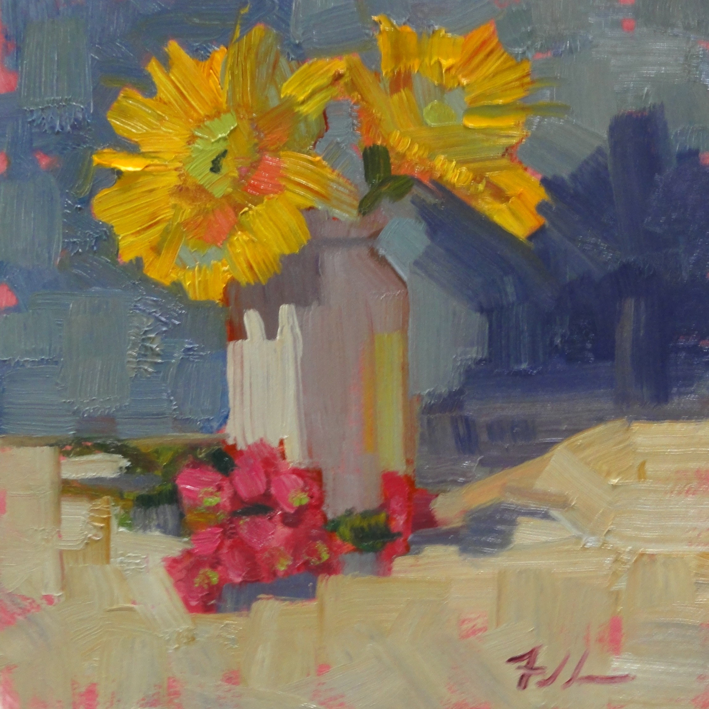 """Monday Morning"" original fine art by Ann Feldman"