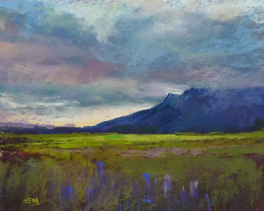 """Iceland: Through an Artist's Eyes  part 4 Rainy Day Adventures"" original fine art by Karen Margulis"