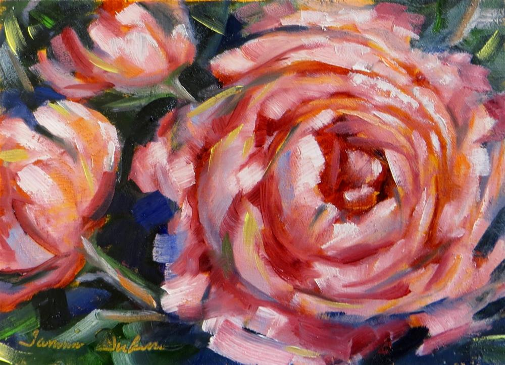 """Party Peonies"" original fine art by Tammie Dickerson"