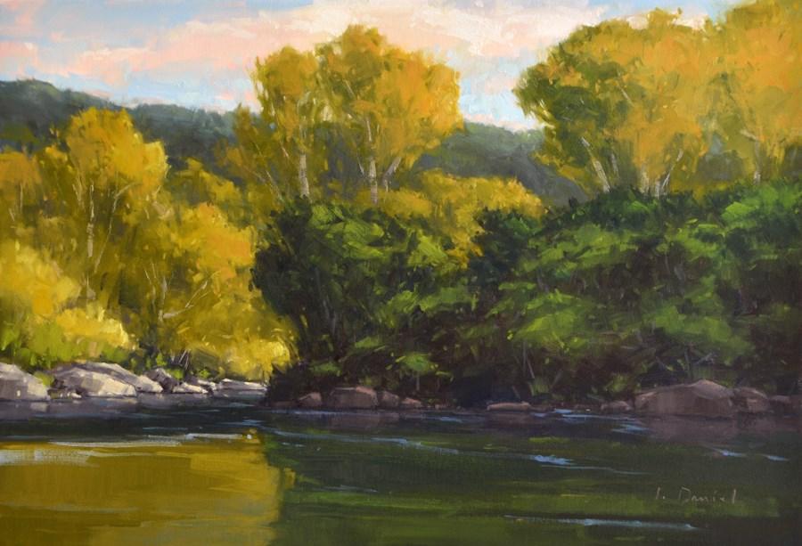 """Summer Morning - Commission"" original fine art by Laurel Daniel"