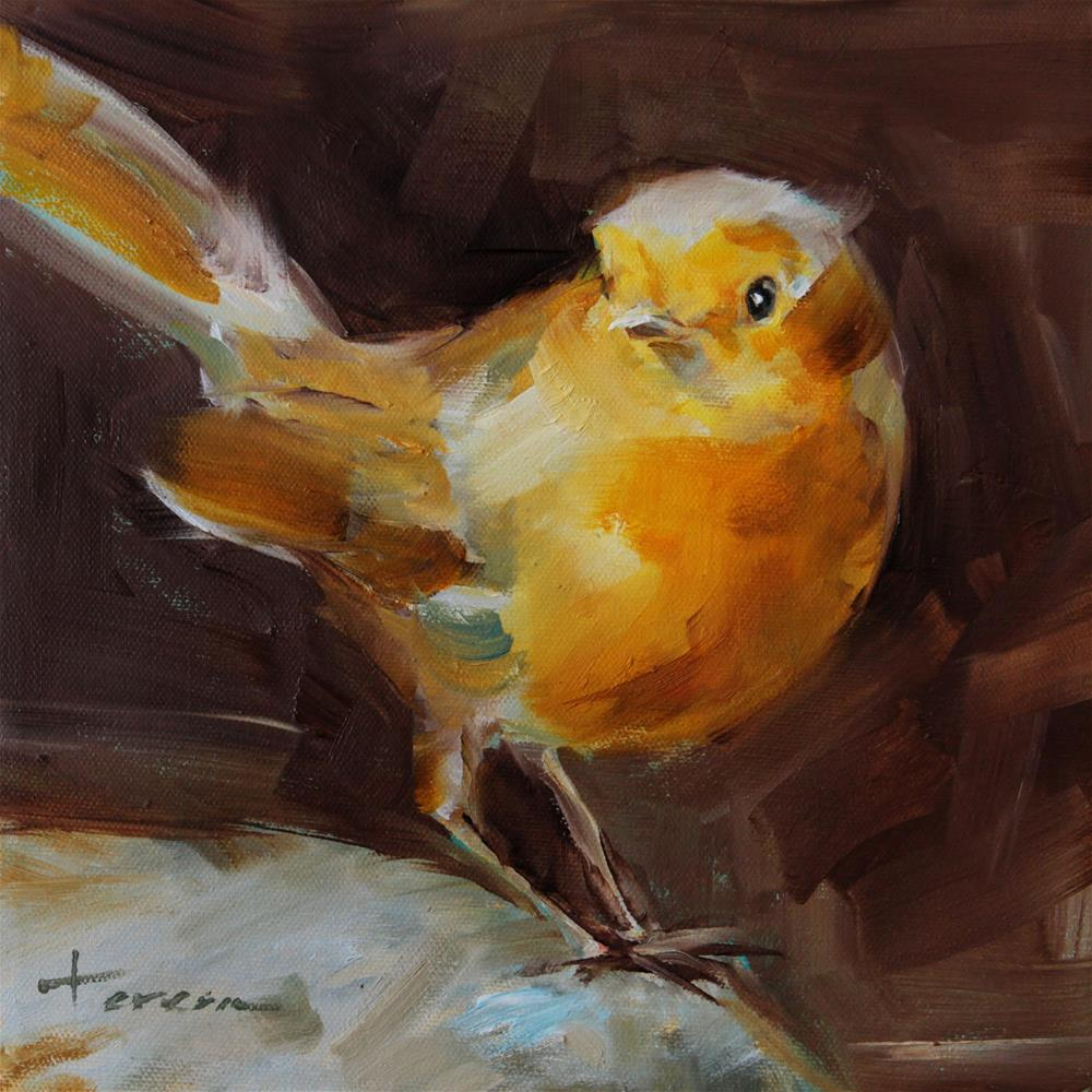 """Look at me!"" original fine art by Teresa Yoo"