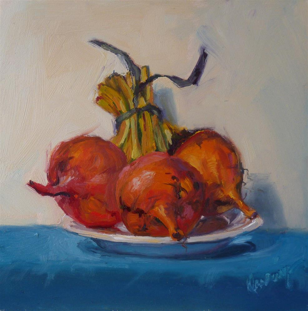 """Plated Up"" original fine art by Sharman Owings"