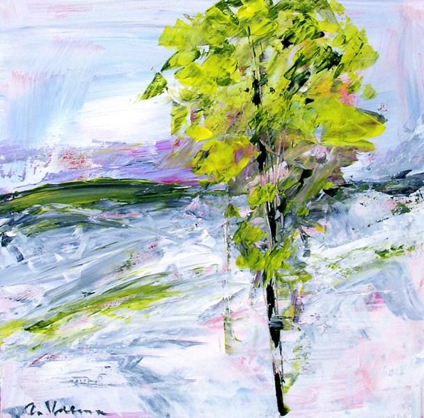 """""""Windswept"""" original fine art by Anna Vreman"""
