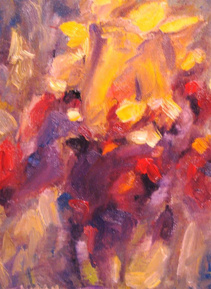 """Brilliant Disguise"" original fine art by Susan Elizabeth Jones"