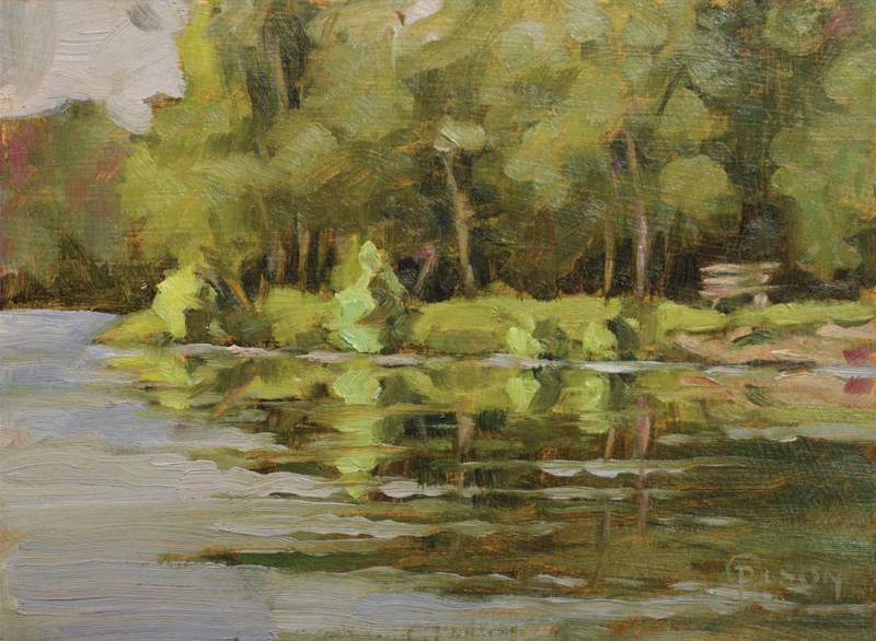 """Stratford Woods sketch"" original fine art by Priscilla Olson"