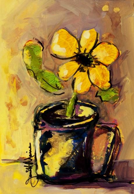 """""""Good Morning"""" original fine art by - JanettMarie"""