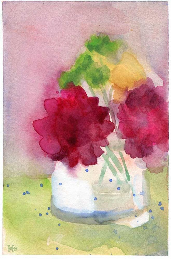 """Showers"" original fine art by Heather Bennett"