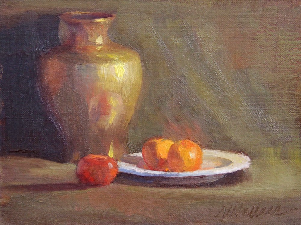 """""""#2 where the warmth is"""" original fine art by Nancy Wallace"""